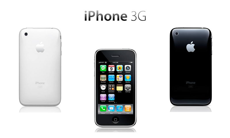 iPhone 10 años: iPhone 3G