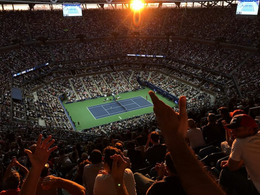 Primera fotos con un iPhone 7 US Open