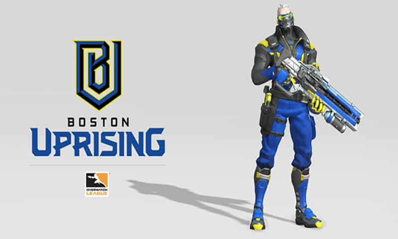 Boston Uprising - Overwatch League - Los equipos