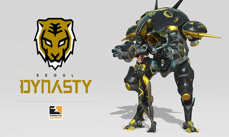 Seoul Dynasty - Overwatch League - Los equipos