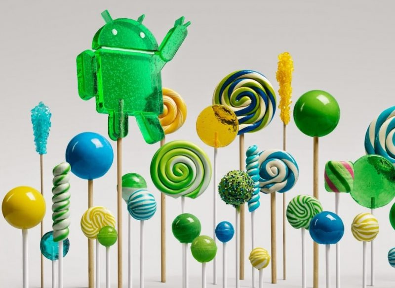 Versiones de Android - 5.0 Lollipop