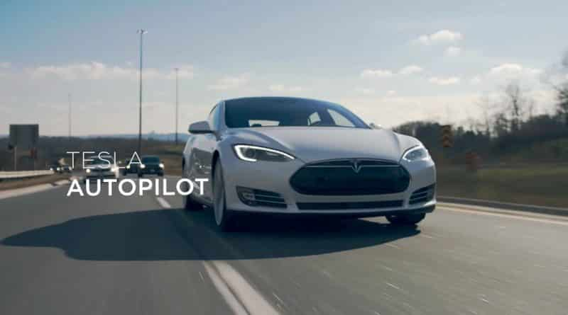 Tesla Model S Autopilot accidente