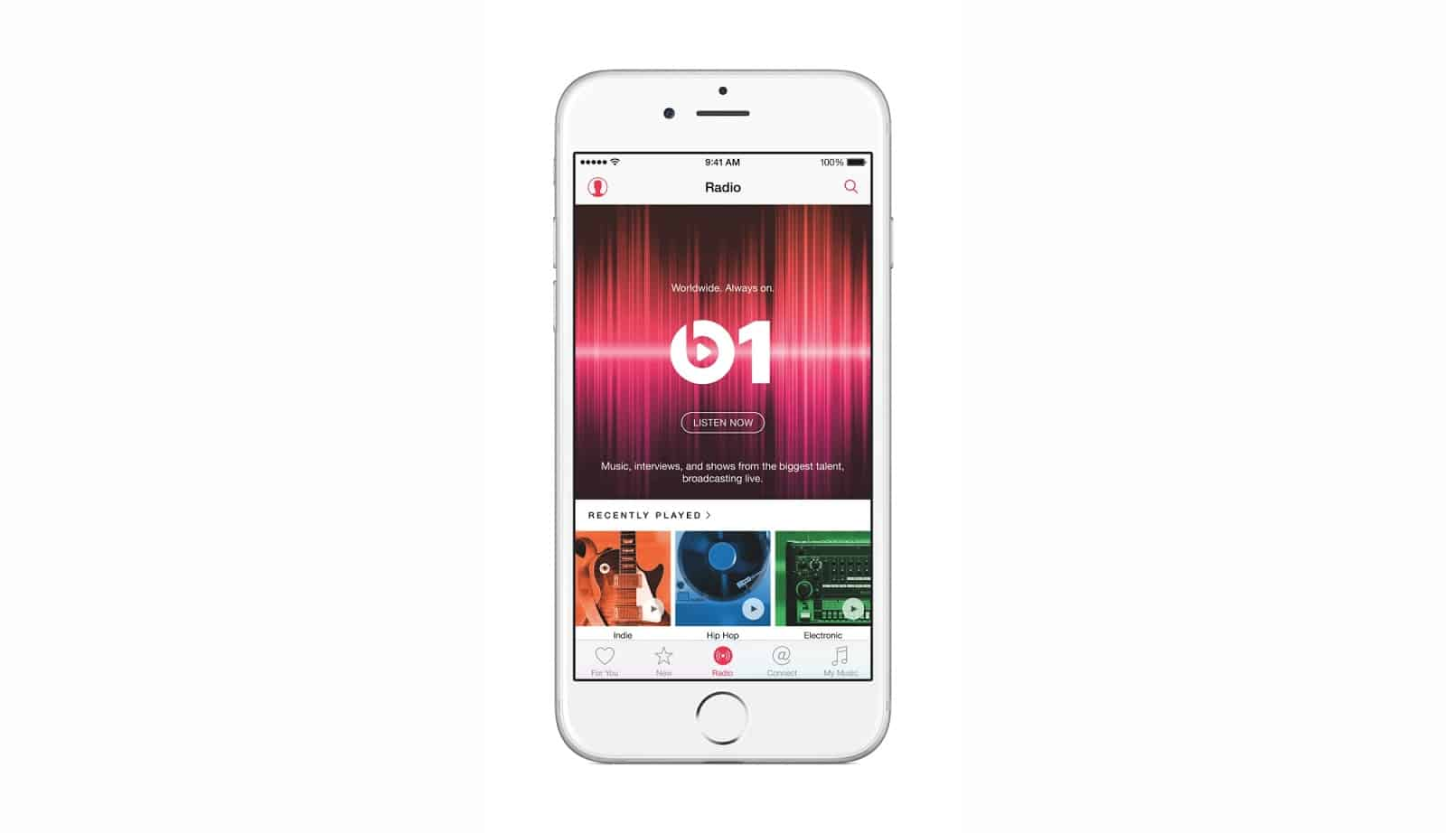 Apple Music Interfaz Usuario
