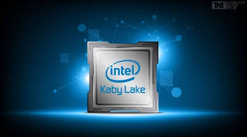 Intel Core Kaby Lake CPU