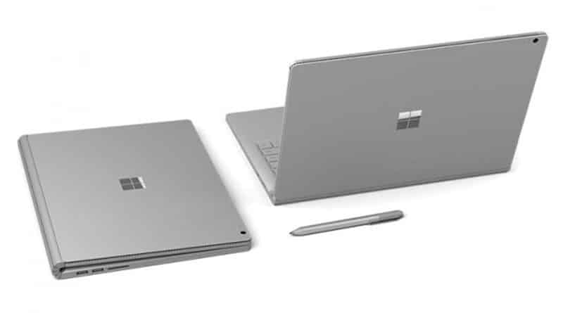 Surface Book con procesador i7.