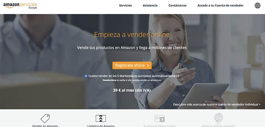 Cómo vender en Amazon