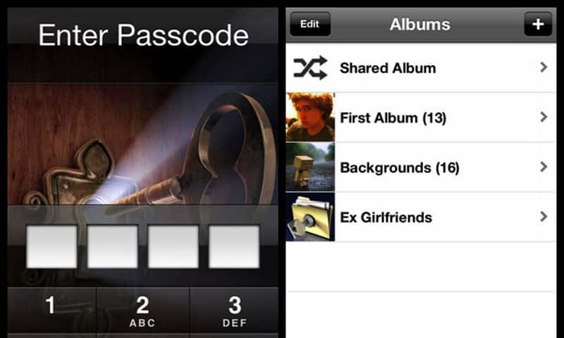 Apps para infieles: Private Photo Vault