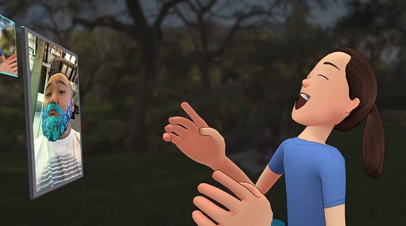 Facebook Spaces, la red social en Realidad Virtual