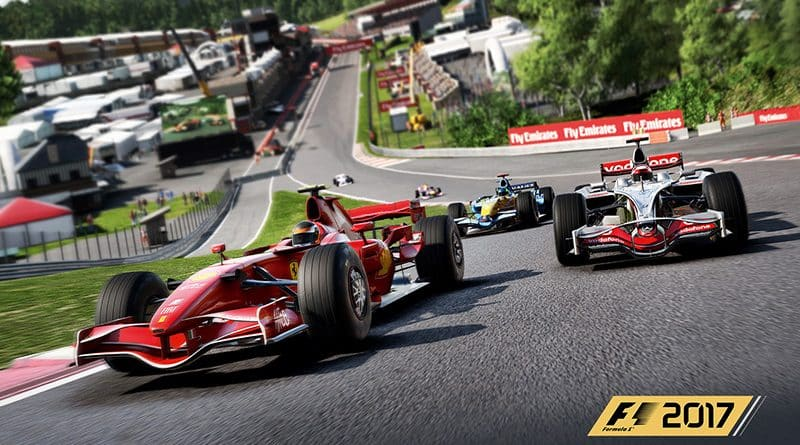 F1 2017 se une a los eSports