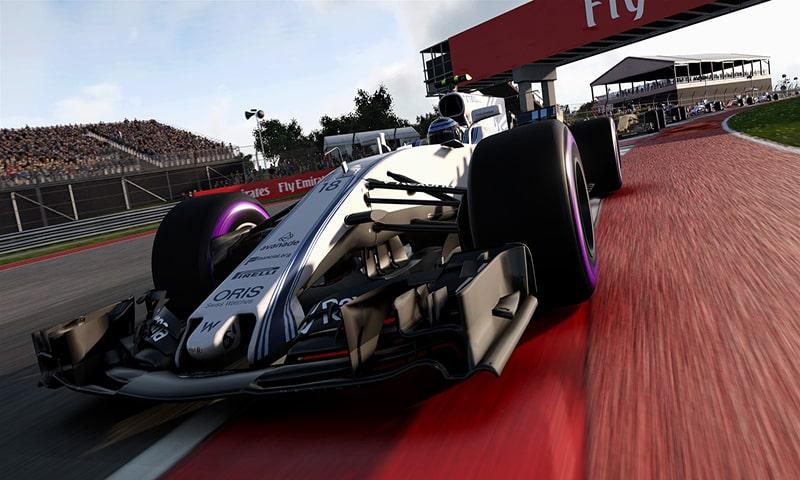 Análisis F1 2017 de Codemasters