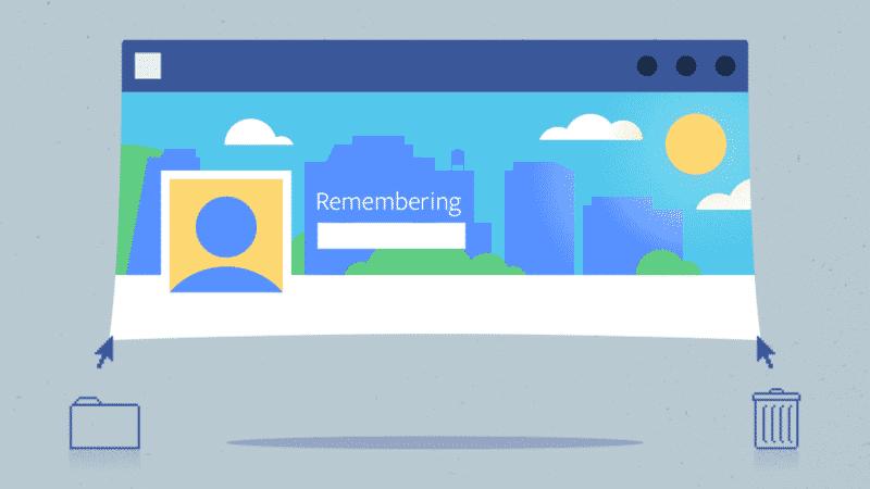 Perfil de facebook cuando mueres