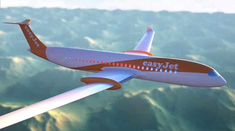 easyJet aviones eléctricos