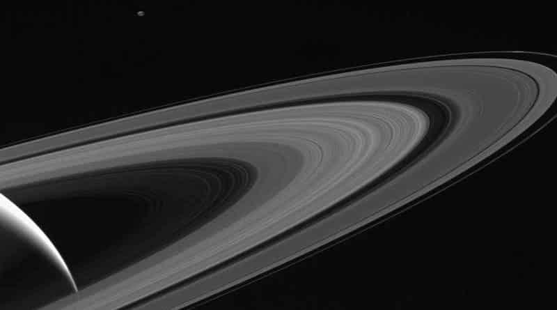 Imagen desde la sonda espacial Cassini