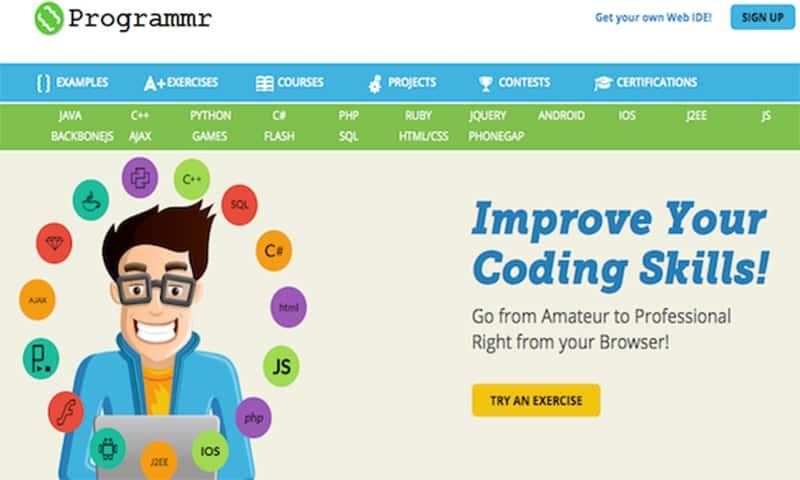 Los mejores sitios web donde aprender a programar gratis