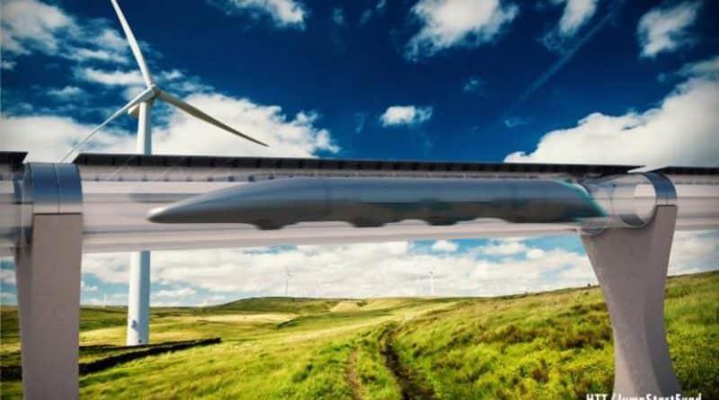 Hyperloop y la levitación magnética