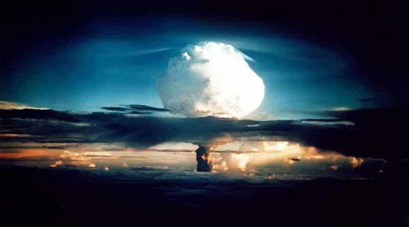 bomba de hidrógeno Ivy Mike