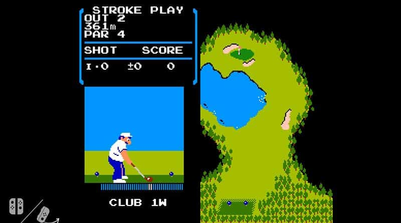 NES Golf en la nintendo Switch