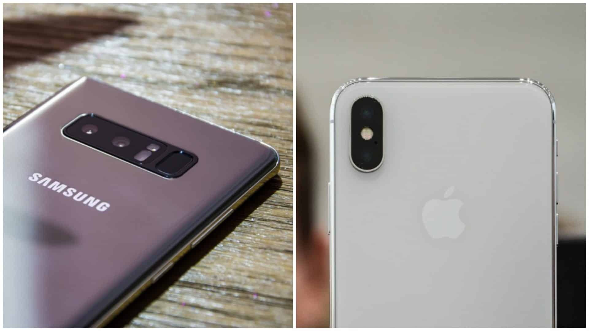 IPHONE X VS NOTE 8 CUAL COMPRAR