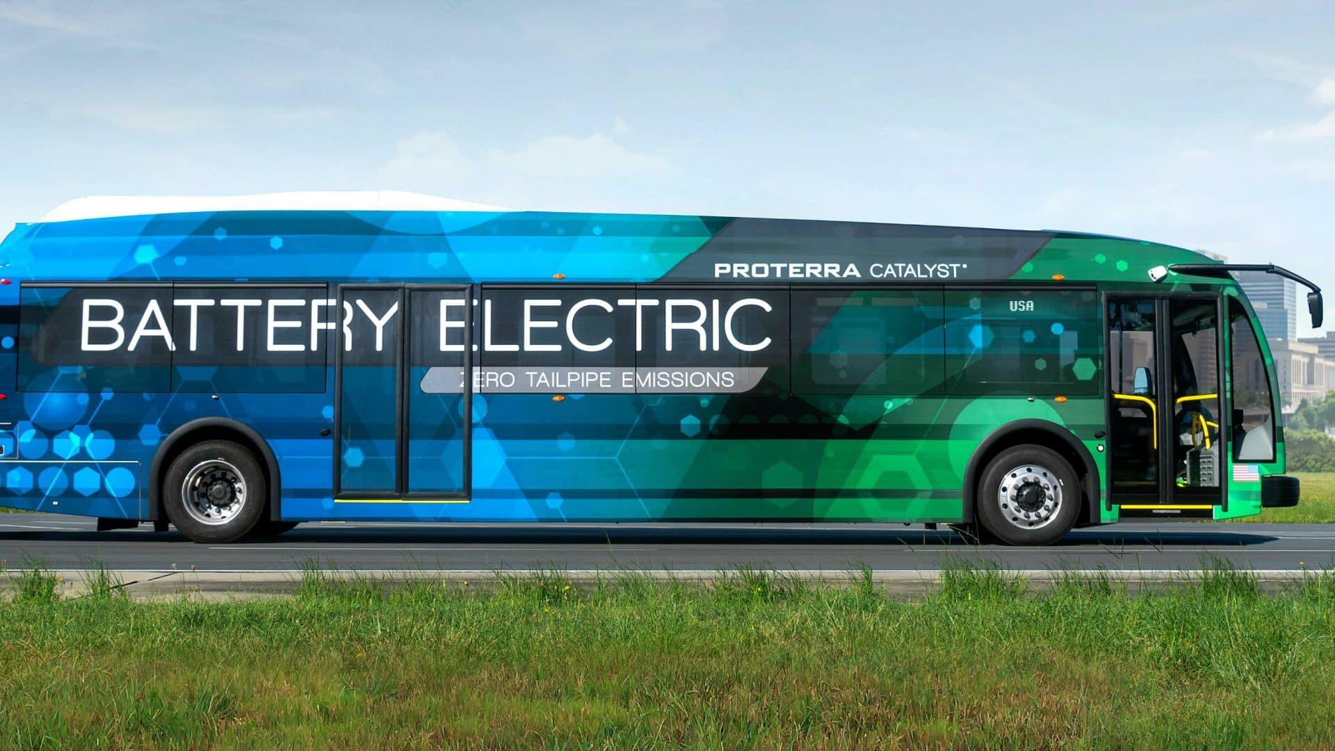 Proterra, en busca del mejor bus eléctrico de gran tonelaje