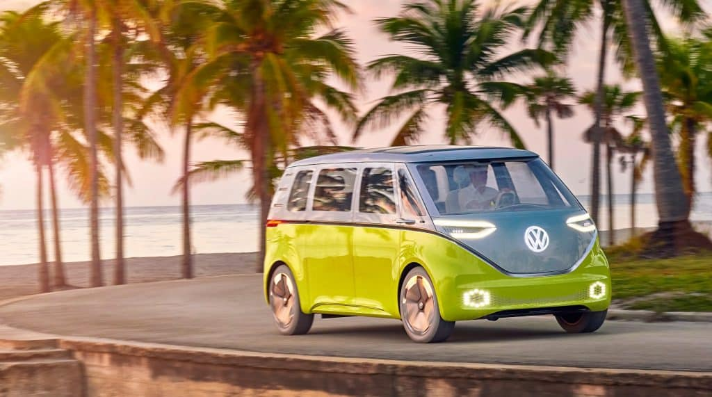 Volkswagen Transporter eléctrica