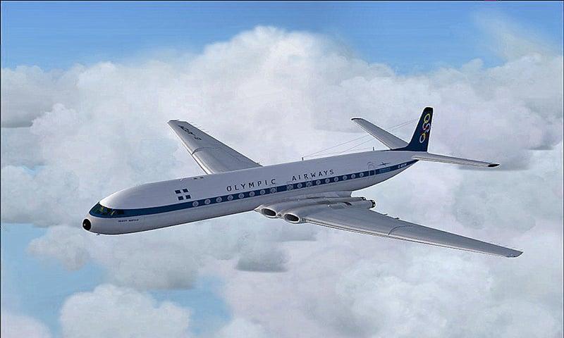 El primer 'jet' comercial