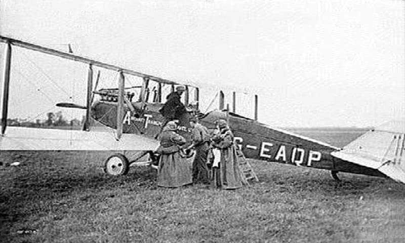 KLM comienza a operar su primer vuelo