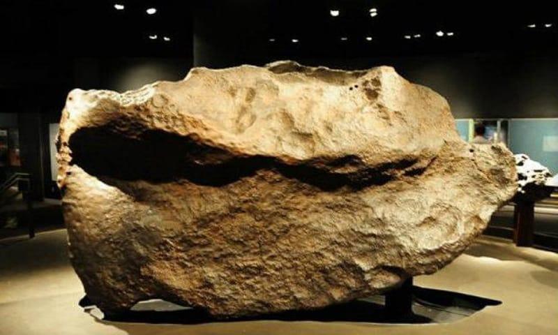 Los meteoritos que han caído en la Tierra