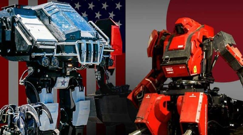Batalla de robots gigantes