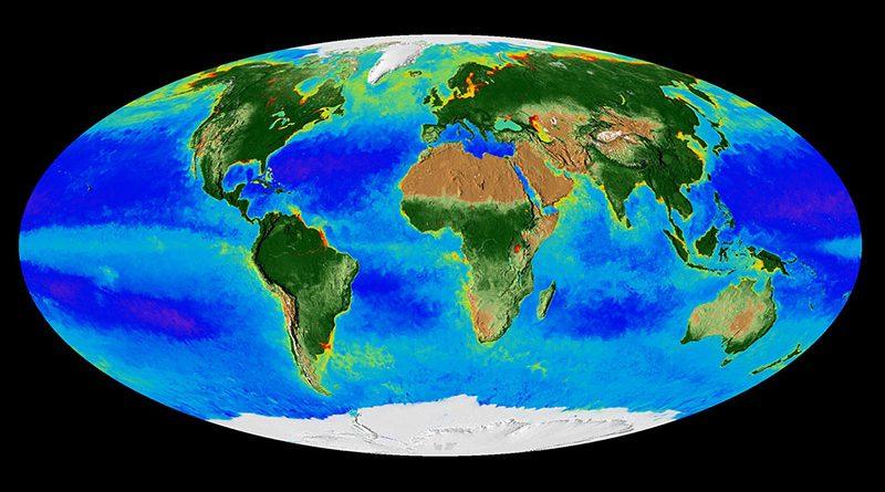 La Tierra respirando