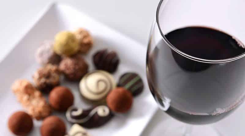 Vino, chocolate y juventud
