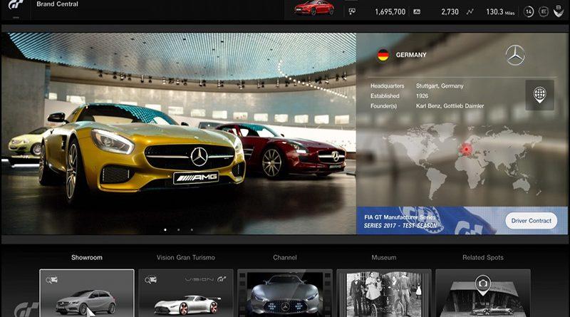 Actualización GT Sport