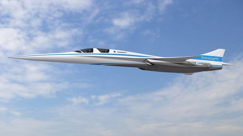 Boom Supersonic XB1