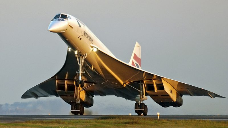 Concorde - Avión supersónico