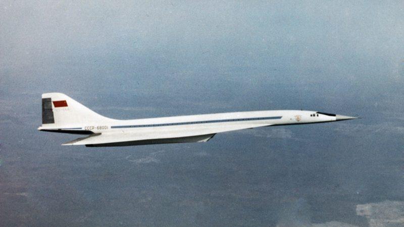Avión supersónico ruso