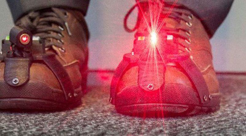 Láser Parkinson caminar