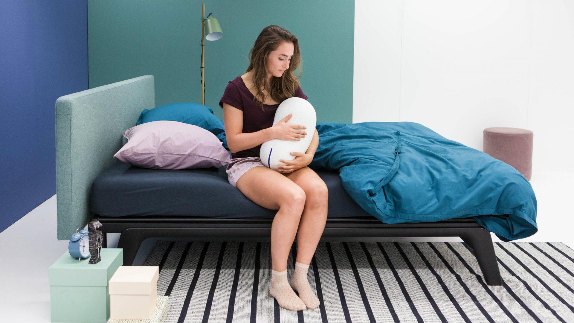 Somnox, mitad robot mitad almohada