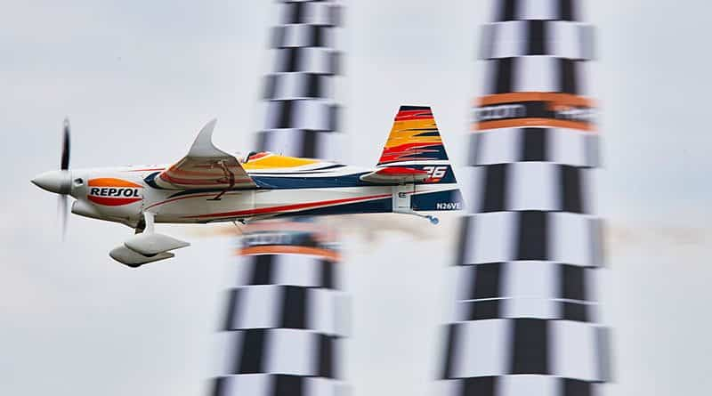 Juan Velarde Red Bull Air Race 2018
