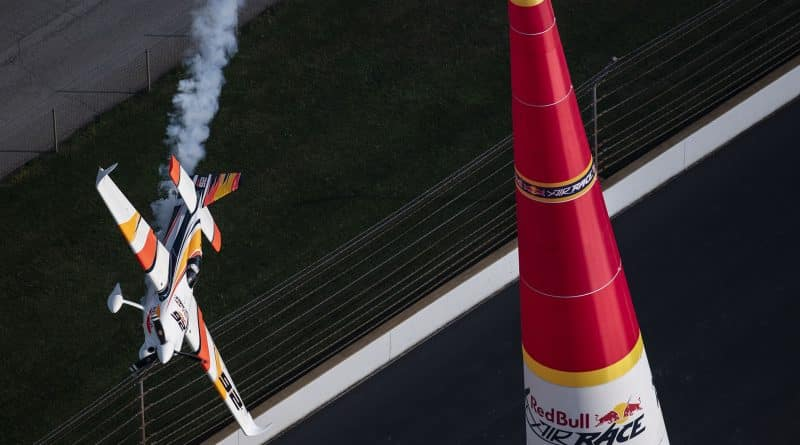 Juan Velarde Red Bull Air Race 2018 Indianápolis